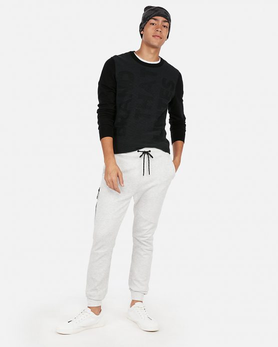 EXPRESS Double Knit Jogger Pants