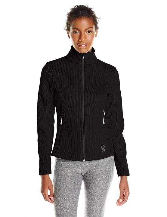 Spyder women Snowflake Insert Mid Weight Core Sweater