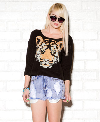 Tiger Sweatshirt | FOREVER 21