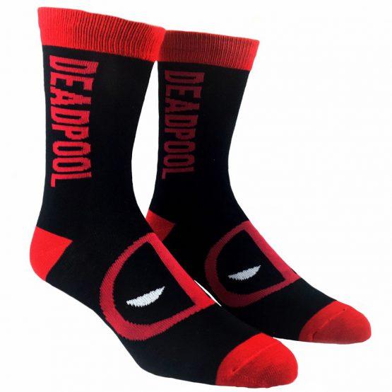 Tất thể thao Marvel Deadpool Vertical Superhero Socks Marvel