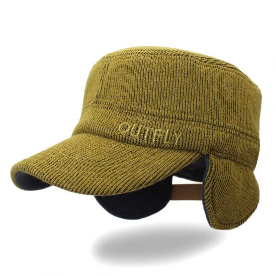Mũ trùm tai Outfly Unisex Flat Top Cap Army Style Outfly