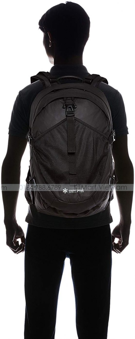 Ba lô Du lịch Snowpeak Active Backpack Type02 ONE Black UG-672BK Snowpeak