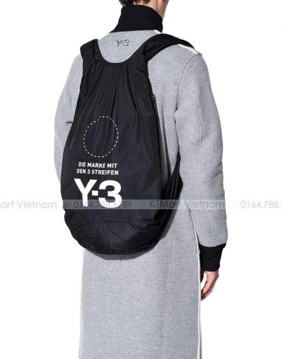 Ba lô siêu Nhẹ Y 3 Yohji Backpack Black Y3