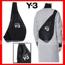 Túi đeo chéo Y 3 Yohji Messenger Bag Backpacks Black.