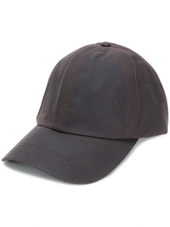 BARBOUR logo cap In brown
