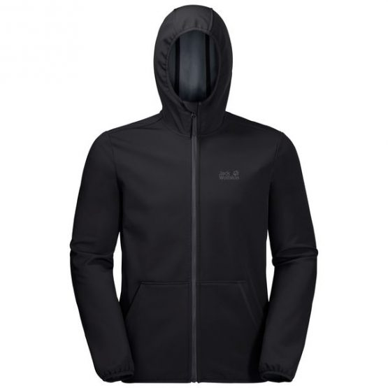 Áo khoác Softshell Jack Wolfskin Essential Peak Black 1305821 size M, XXL