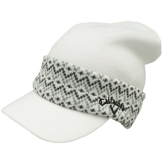 Mũ Len đánh Golf Callaway Golf Knit Cap With Shoulder 241-6284519 Callaway