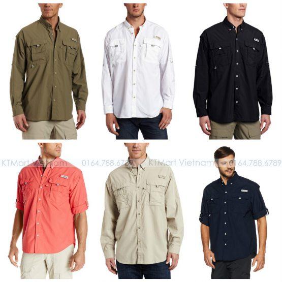 Áo sơ mi Columbia Men's Bahama II Long Sleeve Shirt FT7048 Columbia