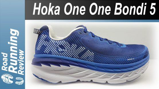 Giầy chạy bộ siêu Nhẹ Hoka One Men's Bondi 5 Running Shoes Hoka.