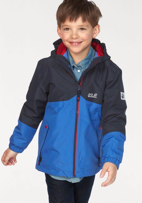Áo khoác chống nước Jack Wolfskin Boys Iceland 3in1 Jacket 1605253 Jack Wolfskin