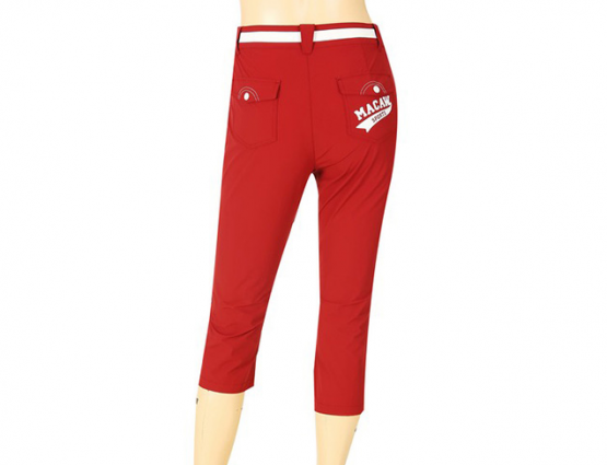 Quần [MACAW] (Women) Casual color banding pants MHW2LP14