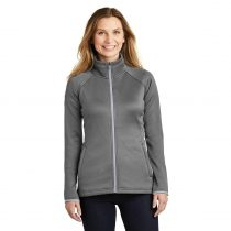 The North Face NF0A3LHA Ladies Canyon Flats Stretch Fleece Jacket – Medium Grey Heather