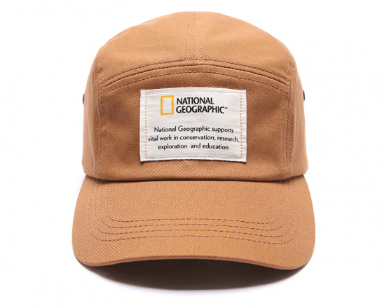 National Geographic Hat Tape Label N181UHA070 National Geographic