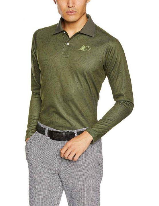 Áo đánh Golf New Balance Golf Long Sleeve Shirt NewBalance