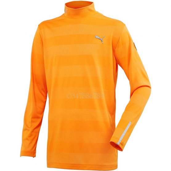 Áo đánh Golf PUMA Long Sleeve Mock Neck Shirt 923593 PUMA