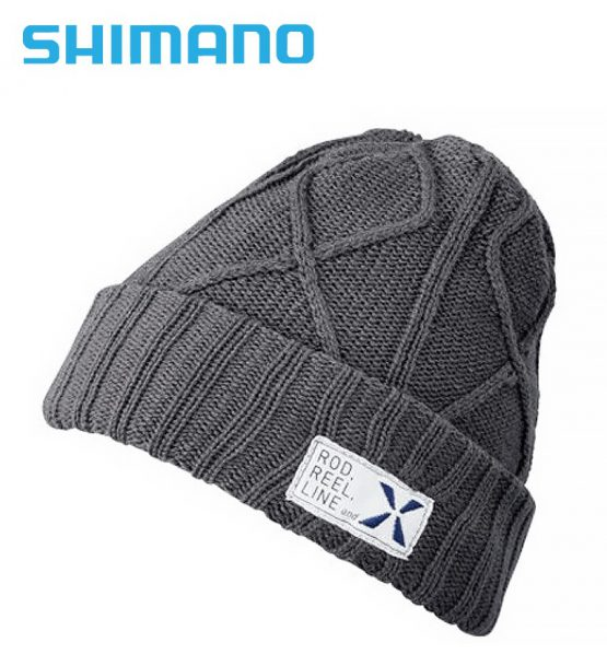 Shimano Cable Knit Xefo Megaheat Beanie