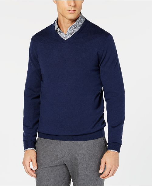 Tasso Elba Men's long sleeve cotton shirt