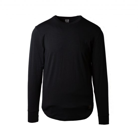 Áo lông cừu Topo Designs Men's Wool Tee Long Sleeve Topo Designs