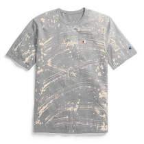 Champion Life® Men's Custom Bleach Splatter Tee Champion