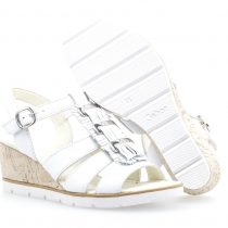 Sandal Gabor Wedge Sandals Smooth Leather White Gabor