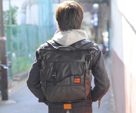 Nomadic Tarpaulin 3way Tote Bag TP 4 Black Water Resistant From Japan