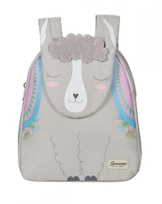 Ba lô trẻ em Samsonite Happy Sammies Backpack S Alpaca Aubrie Samsonite