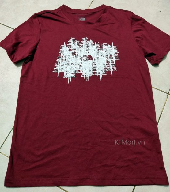 Áo Cotton Hè 2020 The North Face KTMart size S, M, L, XL form Nhỏ