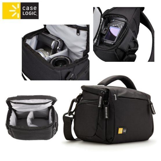 Túi đựng Máy Ảnh Case Logic TBC-405 Compact System Hybrid Camcorder Kit Bag Black Case Logic