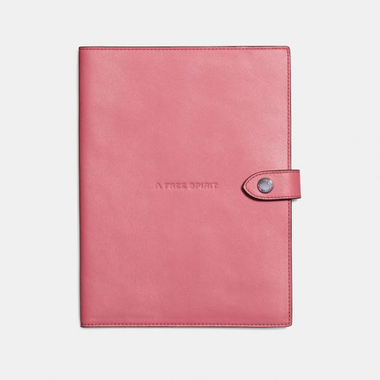 Sổ cầm tay Coach Sketchbook In Glovetanned Leather in Peony 56032 Coach