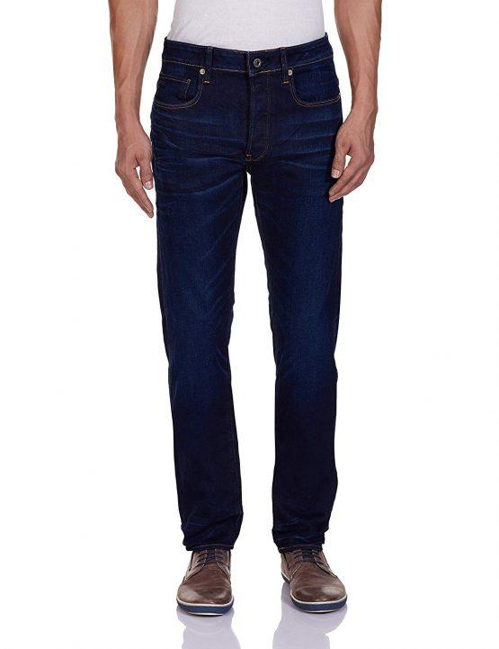 Quần Jean G-Star Raw Men's 3301 Slim Fit Jean In Hydrite Blue Stretch Denim 51001 G Star