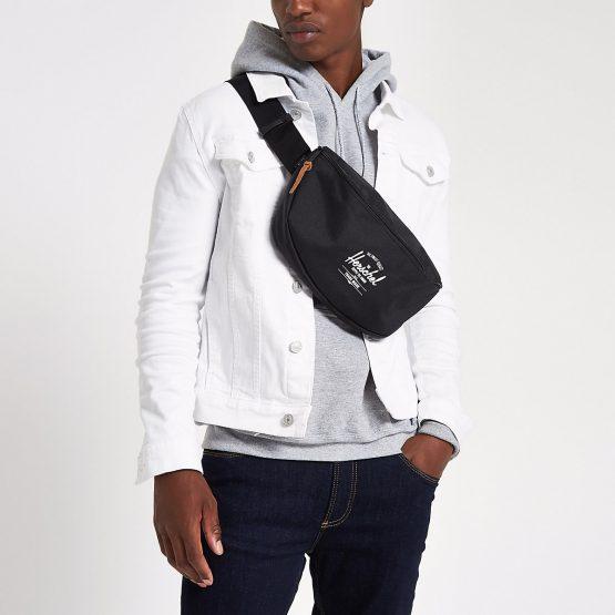 Túi đeo chéo Herschel Sixteen Black Hip Pack Herschel