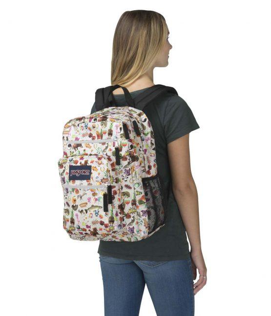 Ba lô sinh viên Jansport Big Student Backpack Multi Stickers Jansport