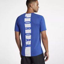 Áo thể thao Nike Air Jordan Dri Fit 23 Alpha Men Short Sleeve Top Blue 889713 Nike
