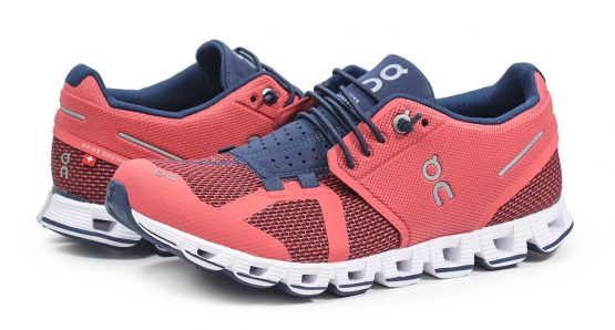 Giày chạy bộ On Cloud Women Running Shoes Coral Pacific On Running