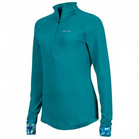 MARMOT Women's Excel 1/2 Zip – Running Shirt