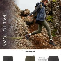 ATHLETA Headlands Hybrid Cargo Tight