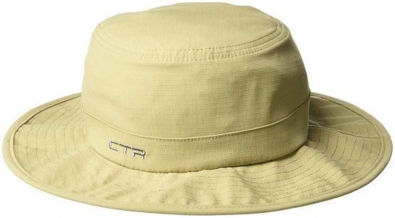 Mũ chống nắng UPF 50 CTR 1402007 Summit Pack-It Hat, Khaki CTR