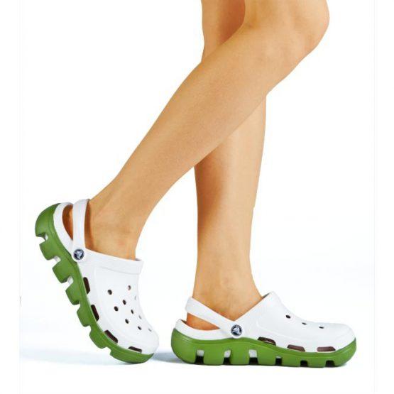 Original Crocs Duet Sport Clog 11991 Oyster