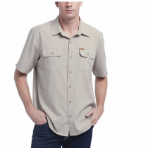 Orvis Men's Short Sleeve Woven Tech Shirt