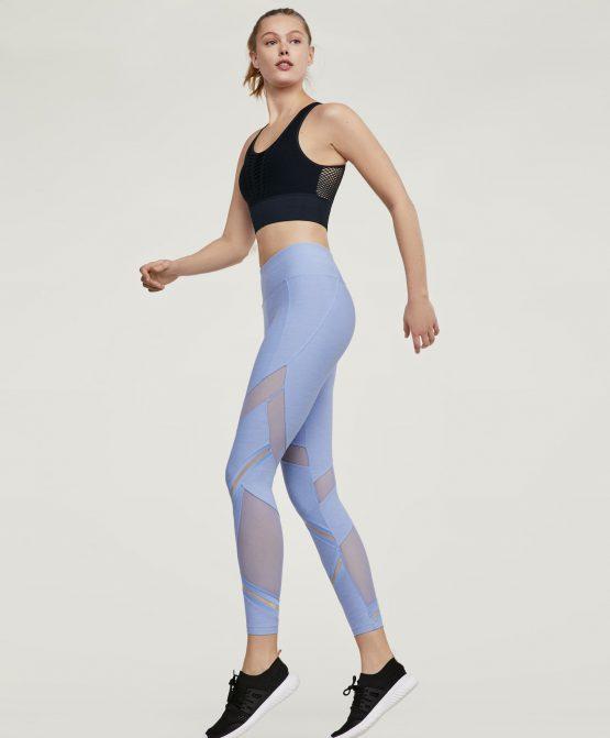 Quần tập Oysho Blue Marl Leggings 1221011 Oysho