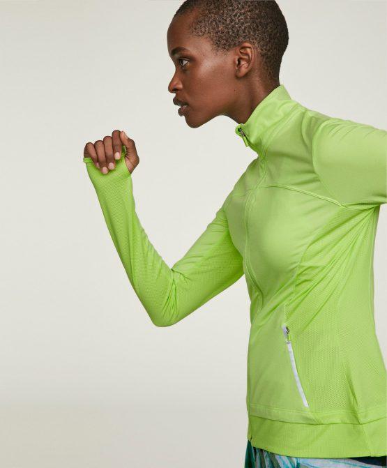 Áo thể thao Oysho Reflective Detail Jacket 1786016 Oysho