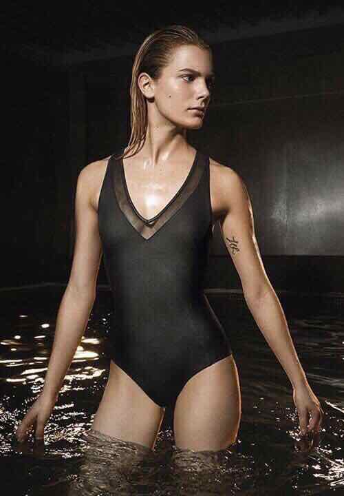 Oysho Swimsuit With Smooth And Transparent Oysho size L
