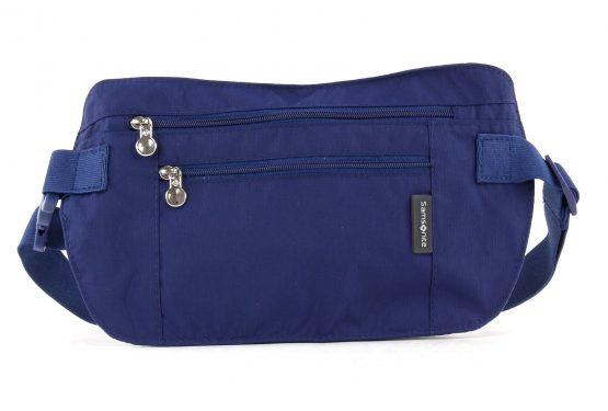 Samsonite Double Pocket Money Belt Blue