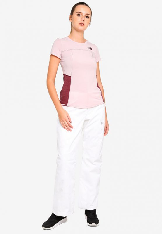 The North FaceTNF W WORKOUT SLIM S/S – AP BURNISHED LILAC/FIG