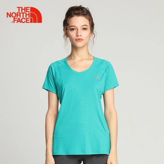 Áo chạy bộ The North Face Women's Ambition Short Sleeve NF0A3GEK The North Face