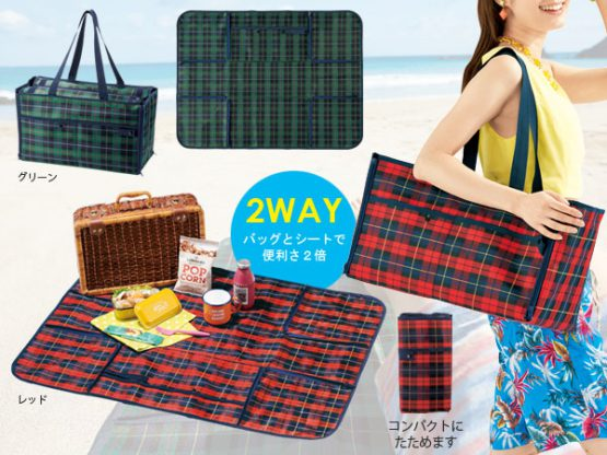 Japan Cold storage seat which becomes a cooler bag which intercepts summer sunlight