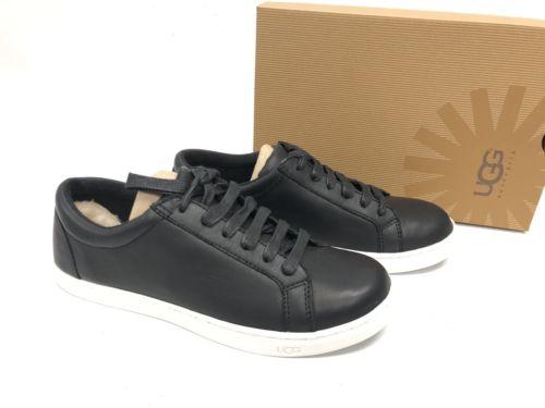 Ugg Australia Karine Leather Womens Fashion Sneaker