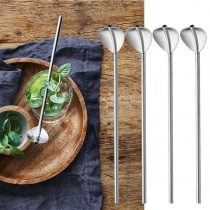 Muỗng Cocktail có ống hút WMF Cocktail Spoon With Straw SET 6 WMF