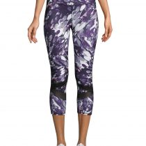 Gaiam Women's Black Om Align Capri Yoga Trousers