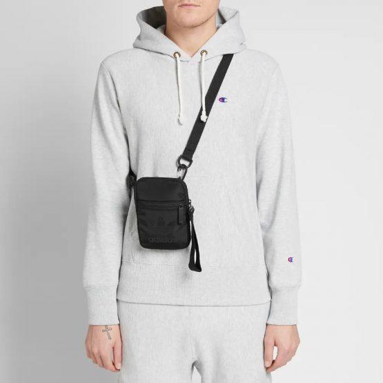 Túi đeo chéo Adidas Trefoil Festival Bag Black DV0216 Adidas